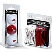 Team Golf Arkansas Razorbacks Golf Ball and Tee Set