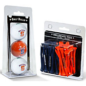 Team Golf Syracuse Orange Golf Ball and Tee Set