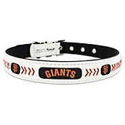 San Francisco Giants Classic Leather Baseball Dog Collar