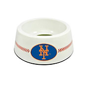 New York Mets Baseball Dog Bowl