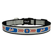 New York Mets Reflective Baseball Dog Collar