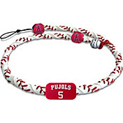 GameWear Los Angeles Angels Albert Pujols Classic Frozen Rope Baseball Necklace