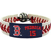 GameWear Boston Red Sox Dustin Pedroia Classic Jersey Bracelet