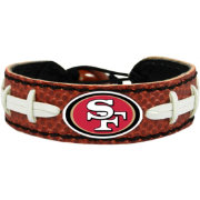 GameWear San Francisco 49ers NFL Classic Football Bracelet