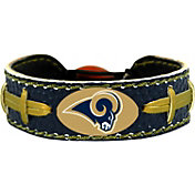 GameWear Los Angeles Rams NFL Team Color Football Bracelet