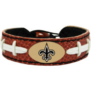 GameWear New Orleans Saints NFL Classic Football Bracelet
