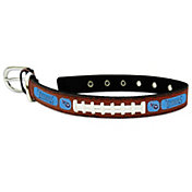 Tennessee Titans Classic Leather Football Dog Collar