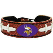GameWear Minnesota Vikings NFL Classic Football Bracelet