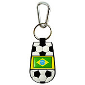 FIFA World Cup Brazil Flag Keychain