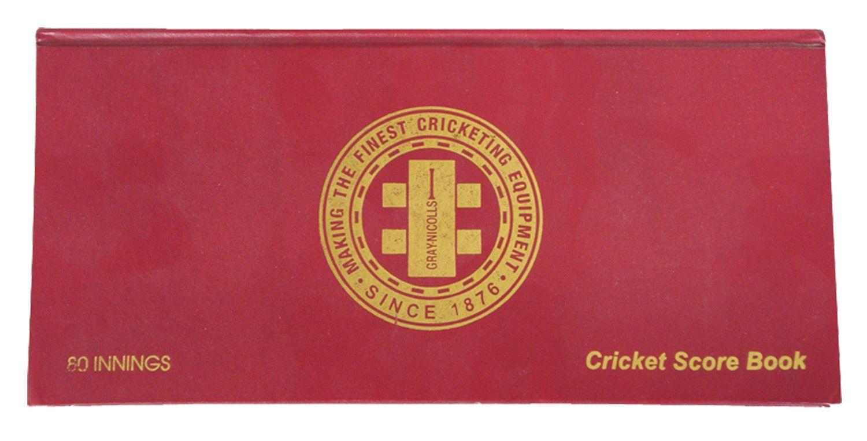 Gray Nicolls Cricket Portrait Score Book DICKS Sporting Goods