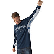 Hands High Men's Penn State Nittany Lions Blue Gridiron Thermal Long Sleeve Shirt