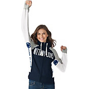 Hands High Women's Penn State Nittany Lions Blue Down the Field Hoodie