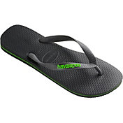 Havaianas Men's Logo Filete Flip Flops