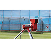 Heater Baseball Pitching Machine & Xtender 24' Batting Cage
