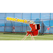 Heater Baseball & Softball Combo Pitching Machine & Xtender 24' Batting Cage