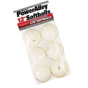 "Heater 12"" PowerAlley Pitching Machine Lite Softballs - 6 Pack"