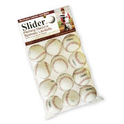 Heater Slider Lite Synthetic Leather Pitching Machine Baseballs - 12 Pack