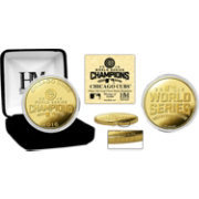 Highland Mint 2016 World Series Champions Chicago Cubs Gold Mint Coin