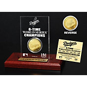 Highland Mint Los Angeles Dodgers Gold Mint Coin Acrylic Desktop Display