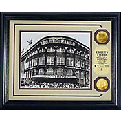 Highland Mint Brookyln Dodgers Ebbets Field Gold Coin Photo Mint
