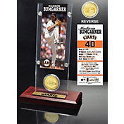 Highland Mint Madison Bumgarner San Francisco Giants Ticket and Bronze Coin Acrylic Desktop Display