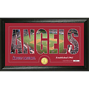 Highland Mint Los Angeles Angels Silhouette Bronze Coin Panoramic Mint