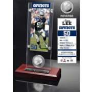 The Highland Mint Dallas Cowboys Sean Lee Ticket and Coin Desktop Display