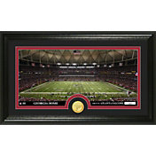 The Highland Mint Atlanta Falcons Georgia Dome Panoramic with Bronze Coin