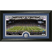 The Highland Mint Detroit Lions Ford Field Panoramic with Bronze Coin