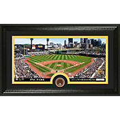 The Highland Mint Pittsburgh Pirates PNC Park Infield Dirt Coin Photo Mint