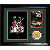 The Highland Mint Milwaukee Bucks Desktop Photo Mint