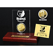 The Highland Mint Memphis Grizzlies Gold Coin Etched Acrylic