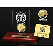 The Highland Mint Sacramento Kings Gold Coin Etched Acrylic