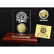 The Highland Mint Toronto Raptors Gold Coin Etched Acrylic