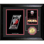The Highland Mint Portland Trail Blazers Desktop Photo Mint