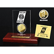 The Highland Mint Portland Trail Blazers Gold Coin Etched Acrylic