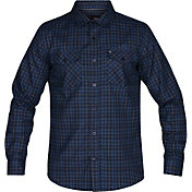 Hurley Men's Dri-FIT Cascade Flannel Long Sleeve Shirt