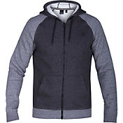 Hurley Men's Getaway 2.0 Fleece Full-Zip Hoodie