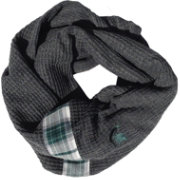 The Honour Society Women's Michigan State Spartans Plaid Waffle Infinity Scarf