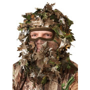 Hunters Specialties Flex Form Camo Leafy Head Net
