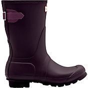 Hunter Boot Women's Original Back Adjustable Short Rain Boot