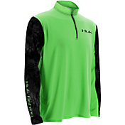Huk Men's Kryptek Sleeve Icon Quarter Zip Pullover