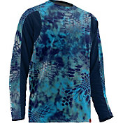 Huk Men's Trophy Kryptek Long Sleeve Shirt
