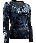 HUK Women's Kryptek Icon Long Sleeve Shirt