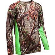 Huntworth Boys' Camo Long Sleeve Shirt