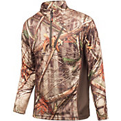 Huntworth Men's Lightweight Quarter Zip Long Sleeve Hunting Shirt