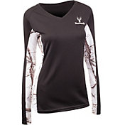 Huntworth Women's Lightweight Lifestyle Long Sleeve Shirt