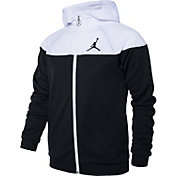 Jordan Girls' Mesh Overlay Full-Zip Jacket