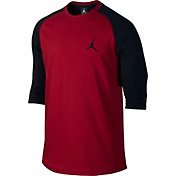 Jordan Men's True Raglan 3/4 Length Shirt