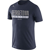 Jordan Men's Georgetown Hoyas Blue ELITE Basketball Practice Legend T-Shirt